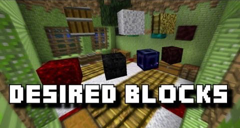 Desired Blocks Mod