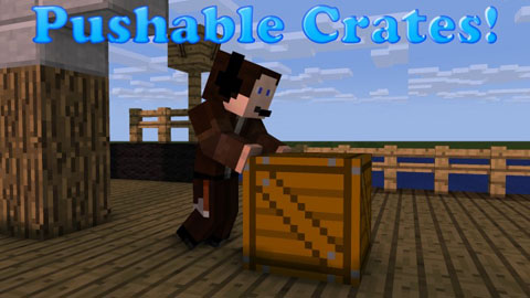 Pushable Crates