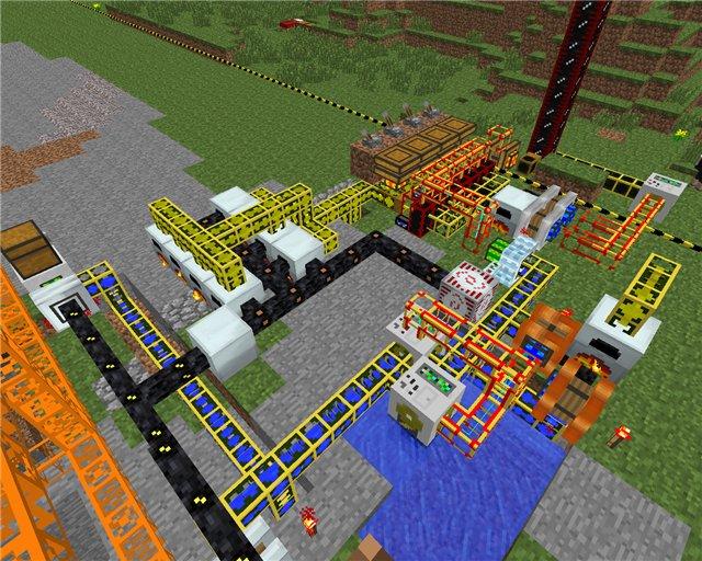 Как сделать в minecraft industrial craft 2 40