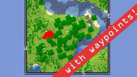 Скачать мод VoxelMap для ... - ru-minecraft.ru