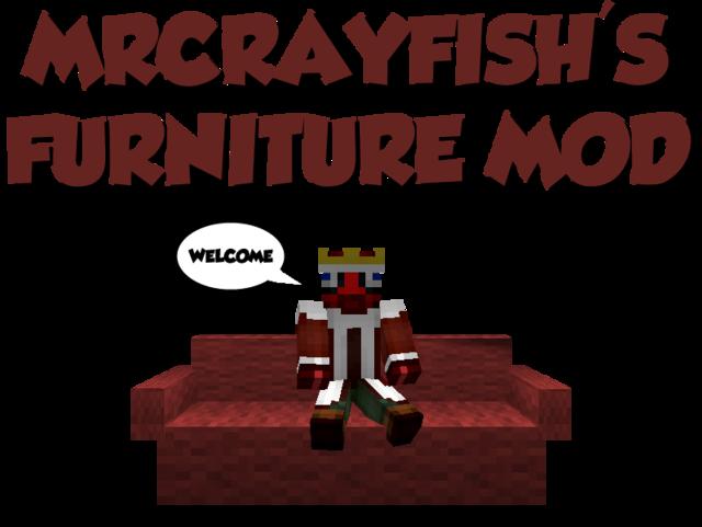 Скачать мод на майнкрафт furniture mod 1.7.10